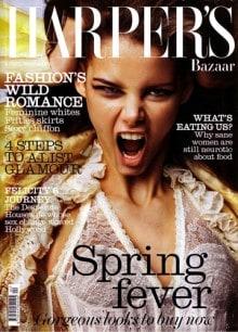 Harpers Bazaar, 'Bright Young Thing', Francesca Martin, April 2006