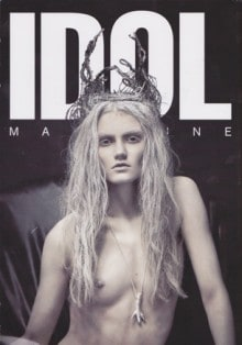 IDOL 'Sometimes Ideas Don't Need Huge Platforms To Work' Theodora Barker, S/S Issue 2013