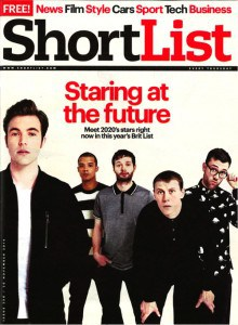 """SHORTLIST The Brit List Issue """"The Cultural Provocateur"""""""