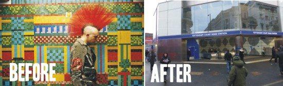 Paulozzi Mosaics @ Totenham Court Road