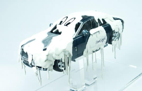 LITTLE GHOST Resin & vinyl on model carStuart Semple 2015