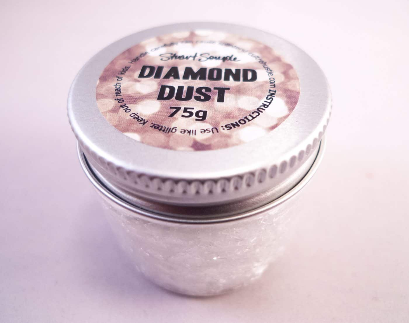 THE WORLD'S MOST GLITTERY GLITTER – 75g Diamond Dust by Stuart Semple