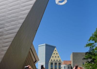 Happy Cloud at Denver Art Museum